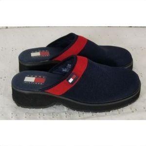Tommy Hilfiger Vintage Clogs Mules Shoes Sz 8